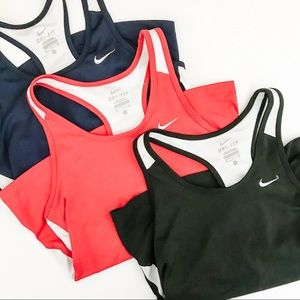 Bundle of three Nike Dri Fit Work Out Tank Tops